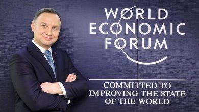 Photo of Andrzej Duda na szczycie ekonomicznym w Davos. Polski pawilon