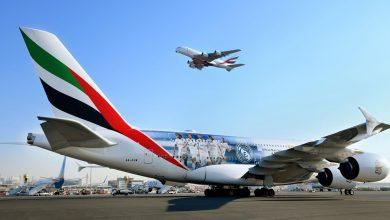Photo of Linie Emirates z nową kalkomanią Realu Madryt na kadłubie samolotu A380