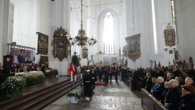 Photo of Pogrzeb prezydenta Gdańska Pawła Adamowicza. Został pochowany w Bazylice Mariackiej