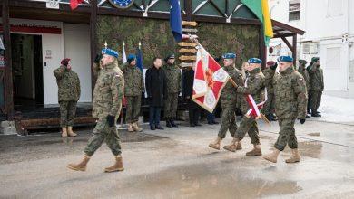 Photo of Szef MON spotkał się z żołnierzami w Bośni i Hercegowinie