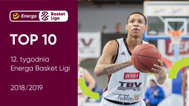 Photo of TOP 10 12. tygodnia Energa Basket Ligi. Joe Thomasson najlepszym zawodnikiem [WIDEO]