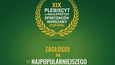 Photo of Zagłosuj na Najlepszego Sportowca Warszawy 2018 roku