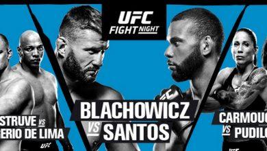 Photo of UFC w Pradze. Jan Błachowicz pokonany przez Thiago Santosa [WIDEO]