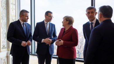Photo of Spotkanie premierów Grupy Wyszehradzkiej z Kanclerz RFN w Bratysławie