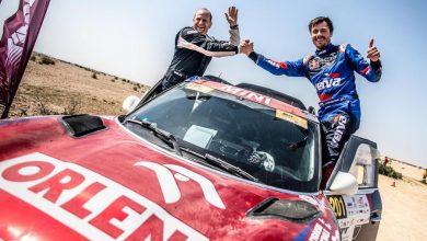 Photo of Przygoński i Gottschalk wygrali etap. Trzecie miejsce na mecie Rajdu Kataru 2019!