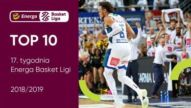 Photo of 17. tydzień Energa Basket Ligi. TOP 10, Wyka najlepszym zawodnikiem [WIDEO]