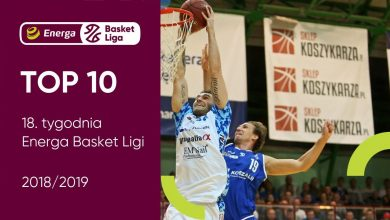 Photo of TOP 10 18. tygodnia Energa Basket Ligi. Wojciechowski MVP [WIDEO]