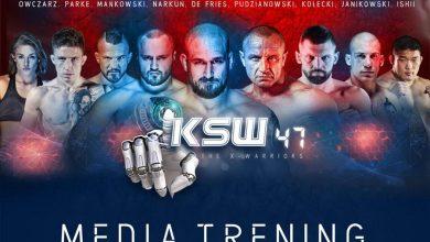 Photo of KSW 47: The X-Warriors. Oficjalny media trening przed galą w Warszawie