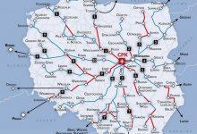 """Photo of Centralny Port Komunikacyjny. Dziesięć kolejowych """"szprych"""" [MAPA]"""