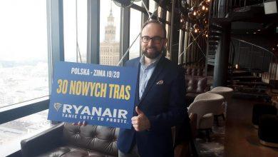 Photo of Ryanair. Rekordowy rozkład lotów z Polski na zimę. 12,7 mln pasażerów rocznie