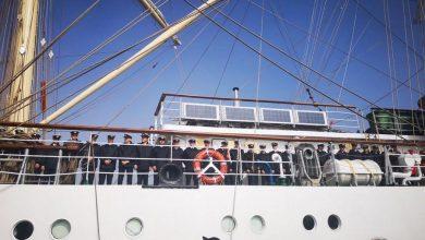 """Photo of Dar Młodzieży wpłynął do Gdyni! """"Biała Fregata"""" przepłynęła 33 tys. mil morskich"""