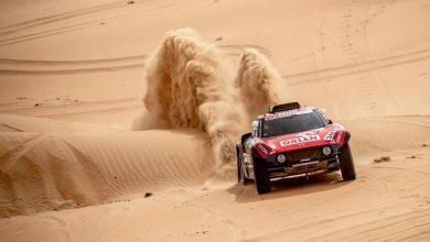 Photo of 3. etap Abu Dhabi Desert Challenge. Kuba Przygoński na pierwszej pozycji