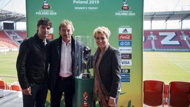 Photo of Mistrzostwa Świata FIFA U-20 Polska 2019. Zbigniew Boniek i Fernando Morientes w Łodzi