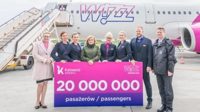 Photo of Wizz Air. 20 milionów pasażerów w Katowicach. 42 trasy do 19 krajów