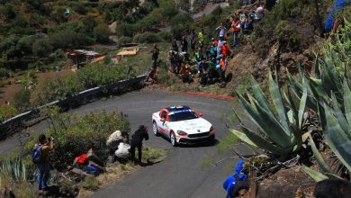 Photo of 43. Rally Islas Canarias. Poloński i Sitek na podium