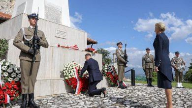 Photo of 75. rocznica bitwy o Monte Cassino. Andrzej Duda spotkał się z prezydentem Włoch Sergiem Mattarellą