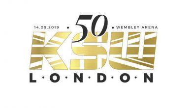 """Photo of Jubileuszowa gala KSW w Londynie. """"Żyrafa"""", """"F-11"""" i olimpijczyk zmierzą się na Wembley"""