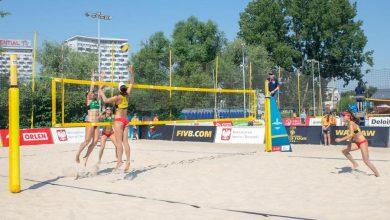 Photo of FIVB Beach Volleyball World Tour Warsaw 2019. Siatkarze plażowi w stolicy. Wyniki i harmonogram