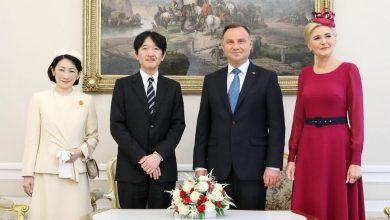 Photo of Japońska Para Książęca z wizytą w Polsce