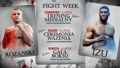 "Photo of FIGHT WEEK przed galą ""KnockOut Boxing Night 7: Różański vs. Izu"" w Rzeszowie"