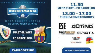 Photo of Rocket League w Polsce. Esportowe rozgrywki Piast Gliwice vs FC Barcelona
