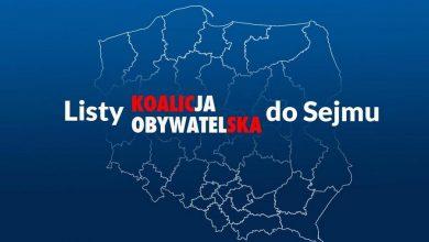 """Photo of Koalicja Obywatelska ogłosiła """"jedynki"""" na wybory parlamentarne. Inni kandydaci"""