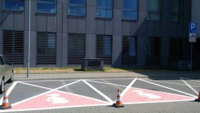 Photo of Ursynów. Miejsca parkingowe dla kobiet w ciąży. Komentarze: Ciąża to nie choroba!