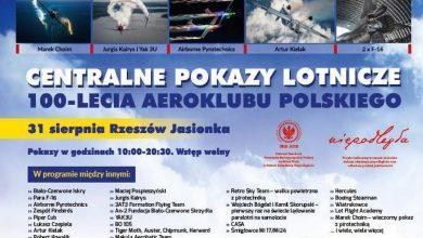 Photo of Centralny Pokaz Lotniczy 100-lecia Aeroklubu Polskiego. Łukasz Czepiela na lotnisku w Jasionce