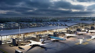 Photo of Port Lotniczy Gdańsk. Budowa pirsu zachodniego terminalu pasażerskiego T2 [WIZUALIZACJE]