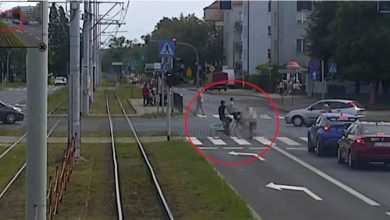 Photo of Rowerzysta z mężczyzną na kierownicy poszukiwani! Potrącona kobieta zmarła