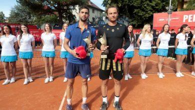 Photo of Jozef Kovalik 27. mistrzem Pekao Szczecin Open. Zwycięzcy debla