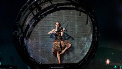 Photo of Wielki powrót pięknej skrzypaczki. Roztańczona Lindsey Stirling zagrała w Krakowie [ZDJĘCIA]