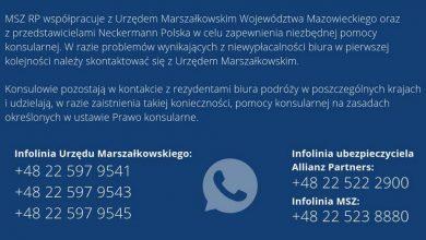 Photo of Biuro Neckermann Polska niewypłacalne. 3600 turystów poza granicami kraju. Infolinia