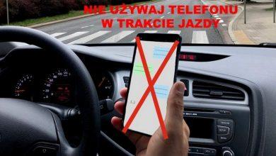 """Photo of Policyjna akcja """"TELEFONY"""". """"Ludzkie życie w Twojej ręce"""": kierowca vs smartfon – SPOT"""