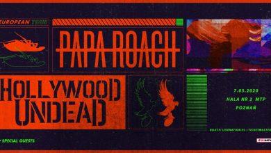 Photo of Papa Roach i Hollywood Undead wspólnie na jednym koncercie w Polsce