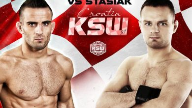 "Photo of Chorwacki ""Killer"" stanie do walki z ""Websterem"" na KSW 51 w Zagrzebiu"