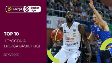 Photo of TOP 10 1. tygodnia Energa Basket Ligi. MVP i najlepsza piątka [WIDEO]