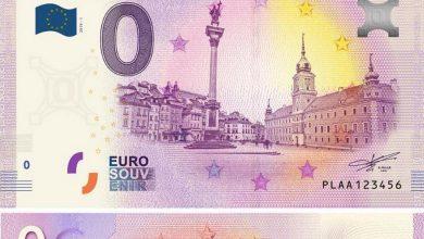 """Photo of Banknot 0 euro z wizerunkiem warszawskiej Starówki. Trafi do sprzedaży. Potem może być """"drogocennym"""" towarem"""