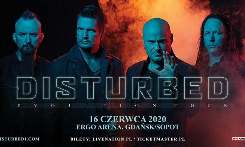 Photo of Disturbed w ramach Evolution Tour w Polsce
