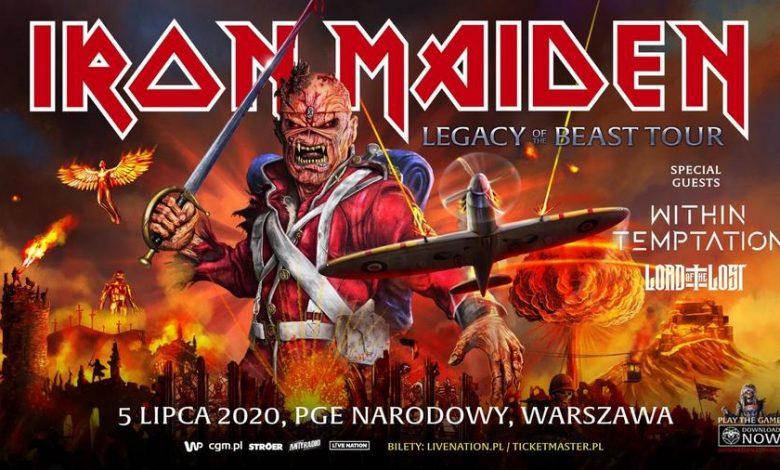 Photo of Iron Maiden wraca do Europy. Legacy Of The Beast Tour w Warszawie!