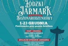 Photo of 1 grudnia. Łódzki Jarmark Bożonarodzeniowy, świąteczne iluminacje i Golden Life