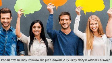 Photo of Ponad dwa miliony Polaków z nowymi e-dowodami