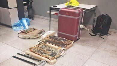 Photo of Lotnisko Chopina. Ponad 11 kg heroiny w bagażu podróżnego o wartości 4,5 mln zł