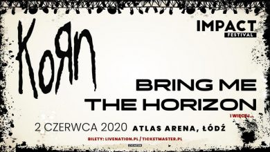 Photo of Bring Me The Horizon na Impact Festival 2020. KORN headlinerem w Łodzi