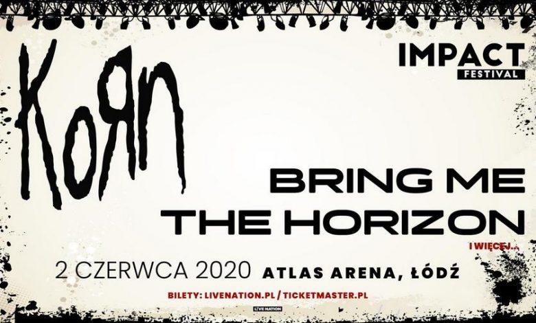 Photo of Bring Me The Horizon na Impact Festival 2020. KORN headlinerem w Łodzi