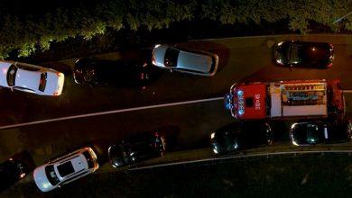 Photo of Wypadek na autostradzie A1. Idealny korytarz życia [WIDEO]