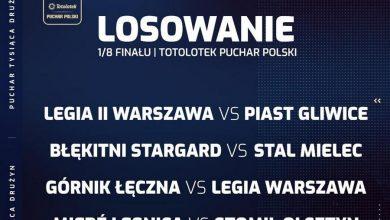 Photo of Poznaliśmy pary 1/8 finału Pucharu Polski