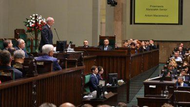Photo of Inauguracja Sejmu IX kadencji. Wpadki prezydenta Dudy i marszałka Macierewicza