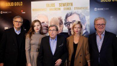 """Photo of Gwiazdy na uroczystej premierze """"Solid Gold"""". Marta Nieradkiewicz, Janusz Gajos [ZDJĘCIA]"""