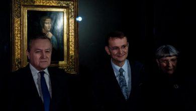 """Photo of """"Dama z gronostajem"""" Leonarda da Vinci w Muzeum Książąt Czartoryskich"""